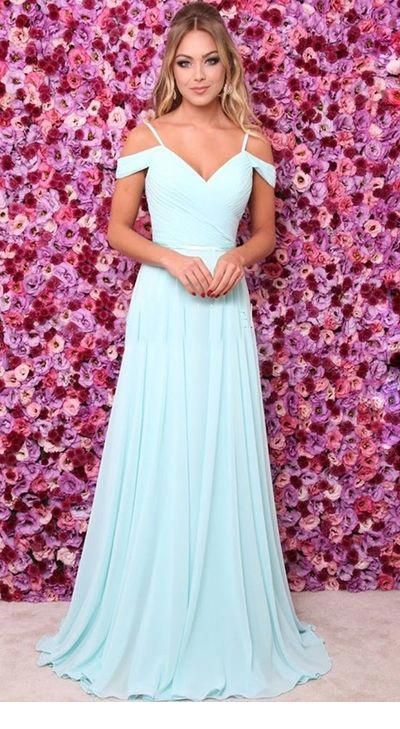 Pin By Fran Edwards On Prom 2020 Baby Blue Prom Dresses Trendy