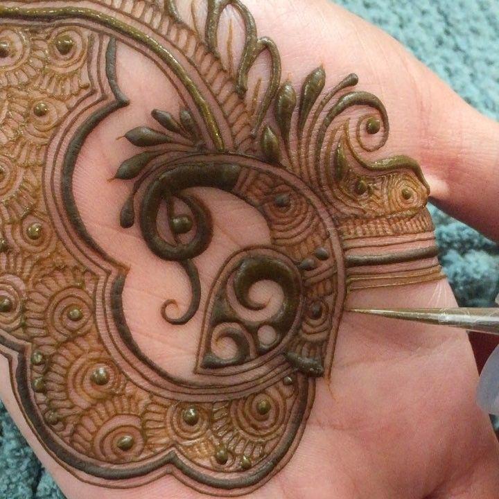 5fee73b178b41 Peacock Mehndi Designs – 50 Beautiful Peacock Henna Designs ...