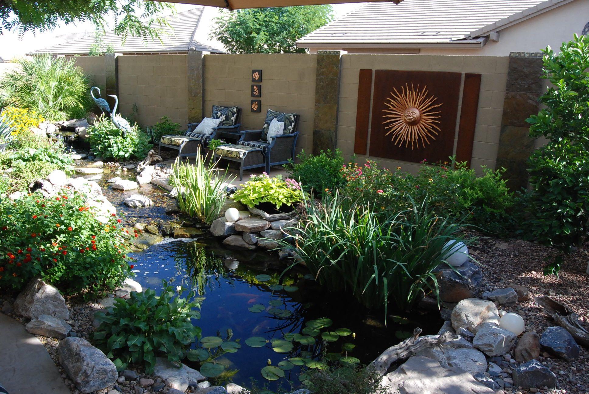 Sterling Residence Pond Maintenance Ponds Backyard 640 x 480