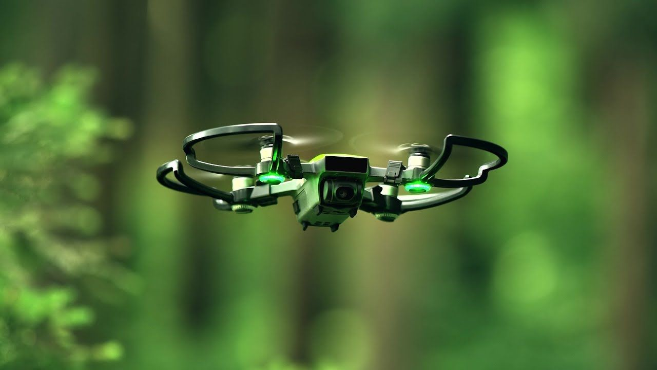 DJI - Green Spark - Nature from the Air DJI Spark https://www ...