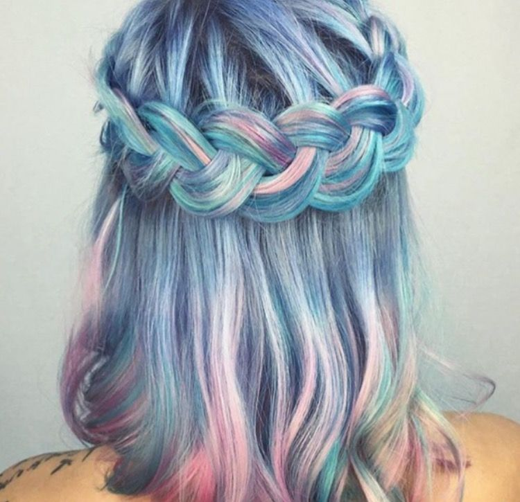 Beautiful Colorful Waterfall Love Iwant Hairferry Haircolor