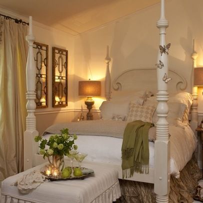Eclectic Home french country bedroom design Design Ideas, Pictures, Remodel and Decor