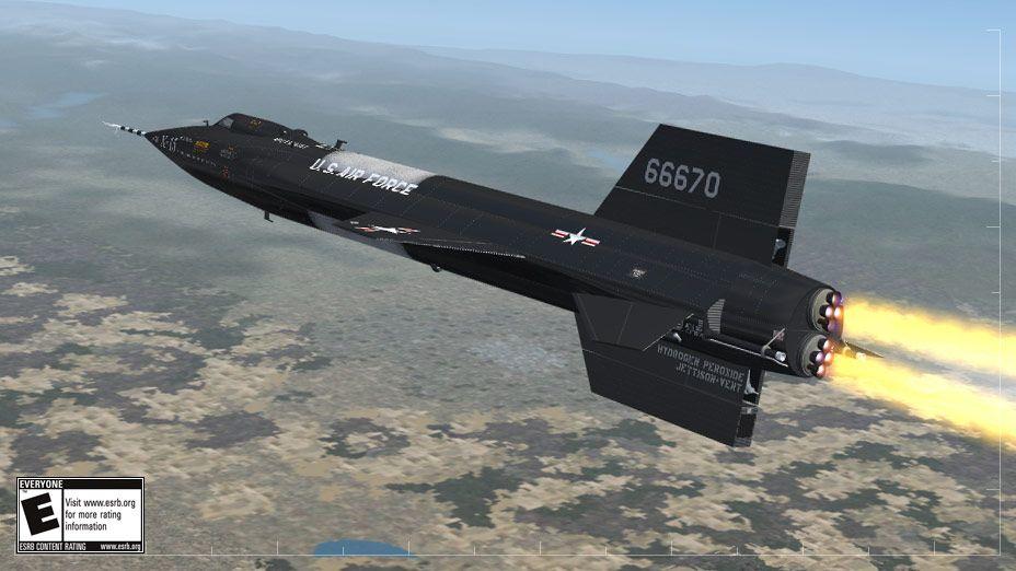 X-15 rocket plane | 15-1 Rocket Plane | Planes, Pilots and ...