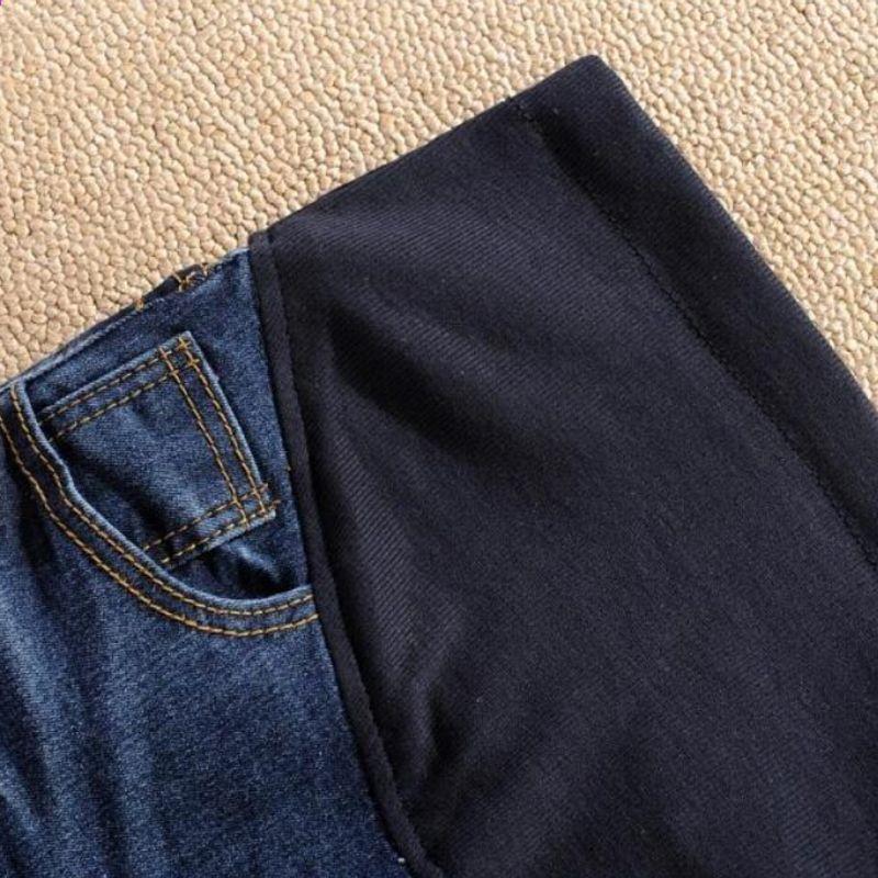 Photo of Nye jeans til gravide kvinder Denimbukser Belly Elastic Maternity Bukser Forår …,  #Belly #…