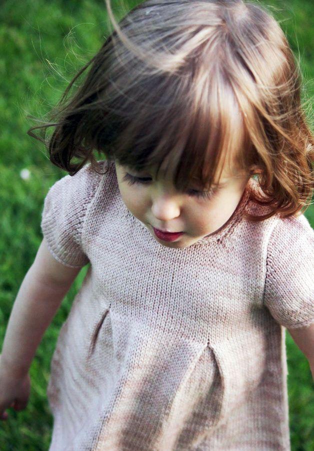 Tunique fillette Petite Lisette 6m-10a - tricot - Tutoriels de tricot chez Makerist