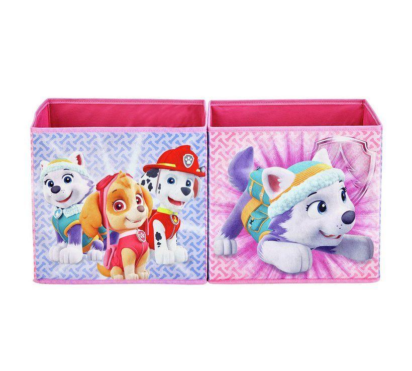 buy paw patrol sky canvas box | kids toy boxes and storage | argos