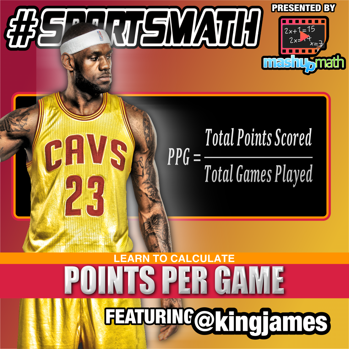 Our Latest Sports Math Graphic Shares The Formula For