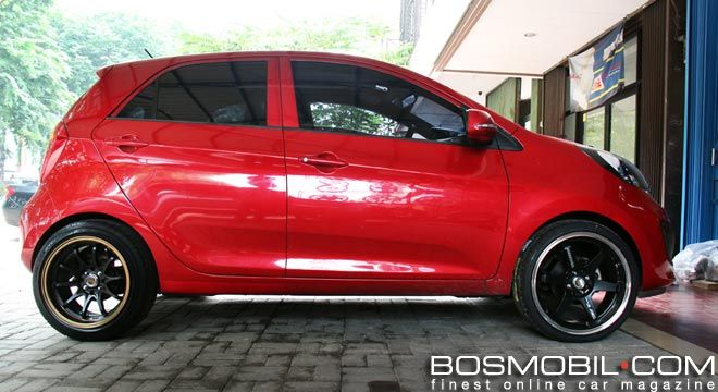Dress Up All New Kia Picanto Dengan Velg Serba Lebar Bosmobil