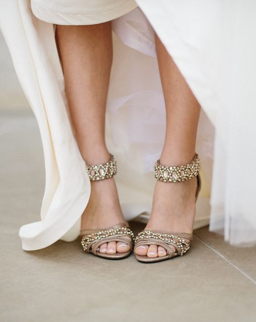 d05134e49c0 Featured Photographer  Apryl Ann Photography  Classy jewel embellished wedding  shoes