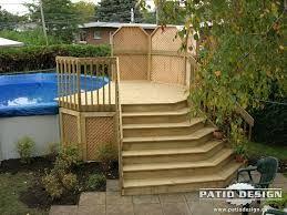 R sultats de recherche d 39 images pour deck de piscine hors terre deck piscine pinterest - Amenagement piscine hors terre ...