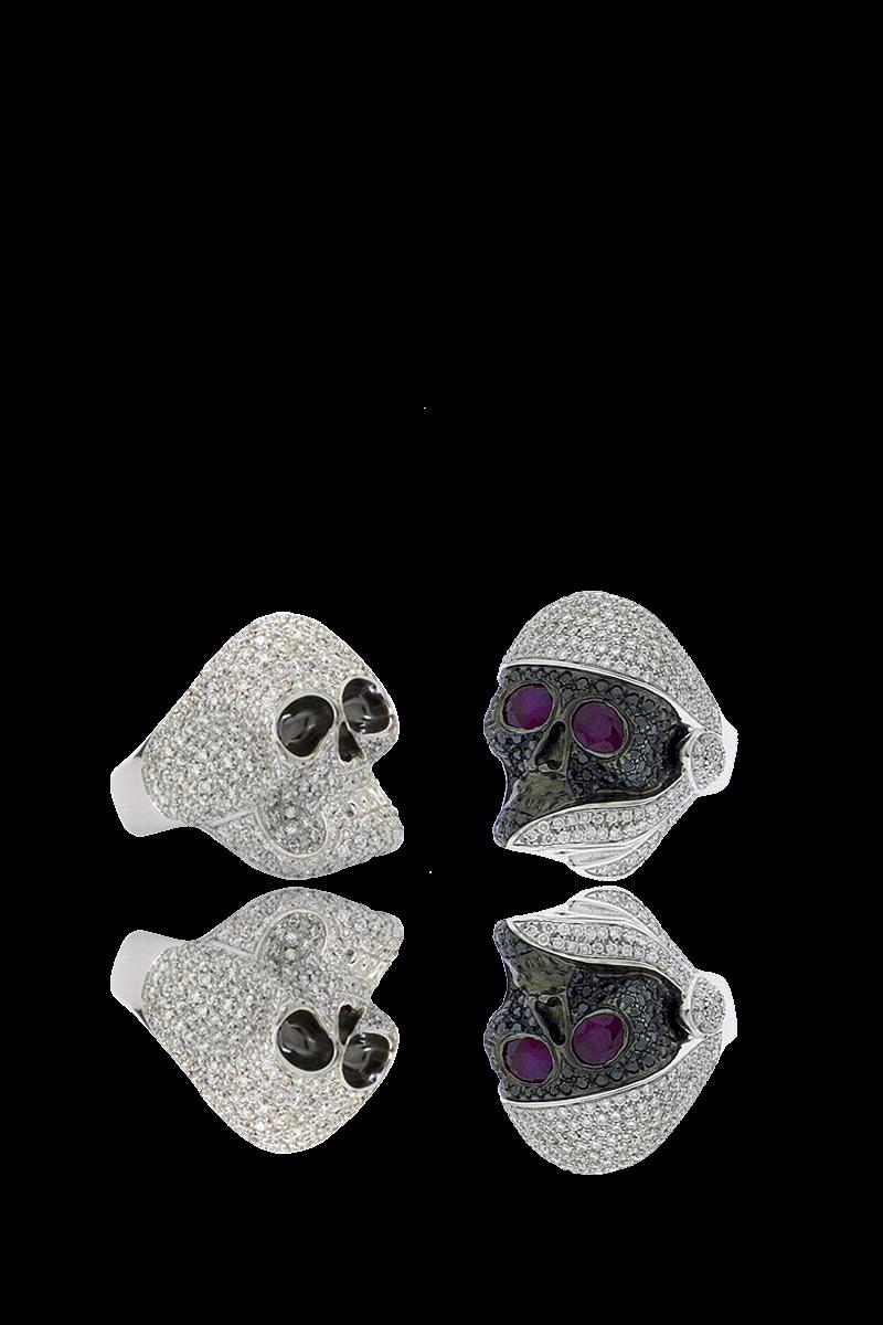 GAVELLO 'Skulls' rings