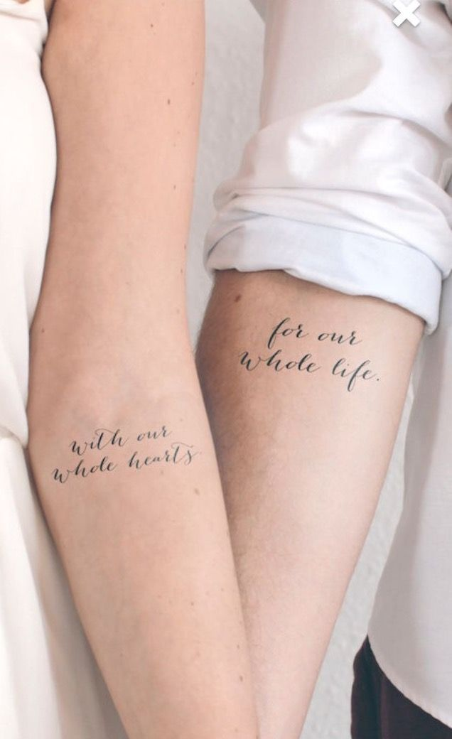 Photo of DRAW A MEANINGFUL COUPLE TATTOO WITH YOUR LOVER  – Tattoos – #Couple #draw #Love…