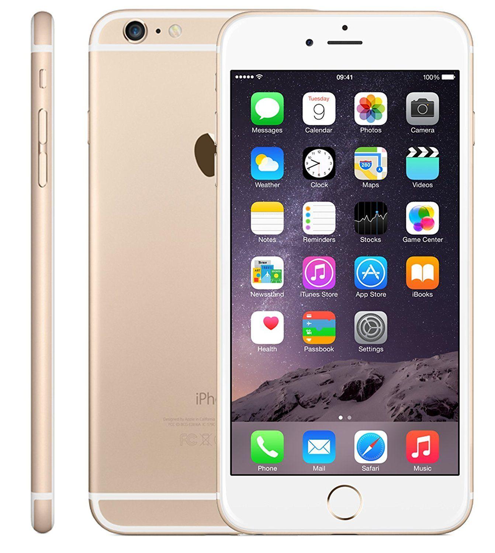 Amazon Com Apple Iphone 6 Plus 16gb Factory Unlocked Gsm 4g Lte Smartphone Gold Certified Refurbished Cell Phones Acc Apple Iphone 6 Iphone Apple Iphone