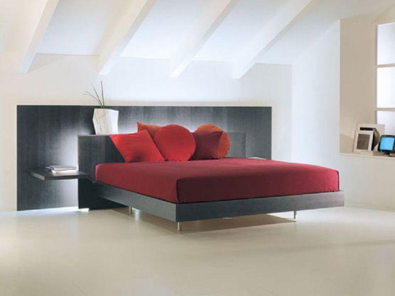Letto matrimoniale LYS 116 Collezione Night Concepts by Acerbis International | design Marco Acerbis