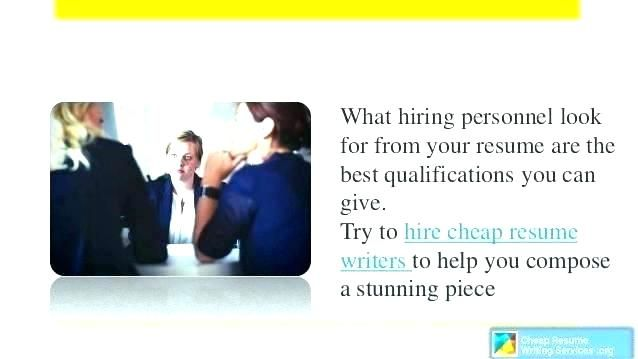 inexpensive resume writing services.