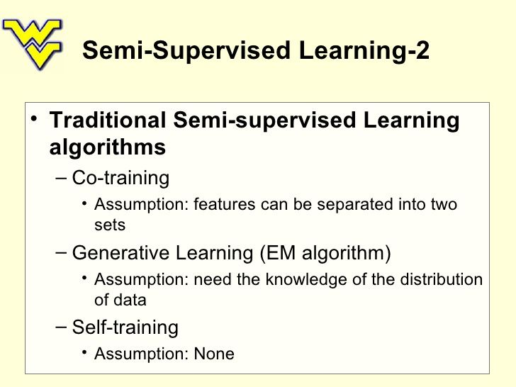 Semi-Supervised Learning Types | Data Science | Data science