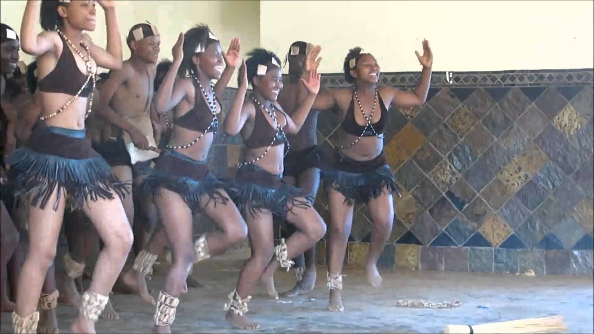 School competition in Traditional Dance and Gumboot Dance in