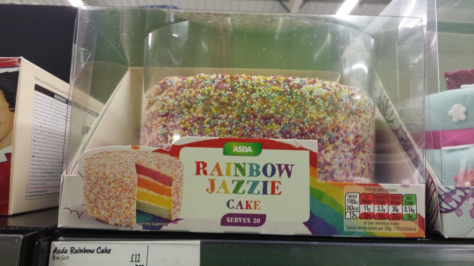 Image Result For Asda Rainbow Cake Little Raras 5th Birthday