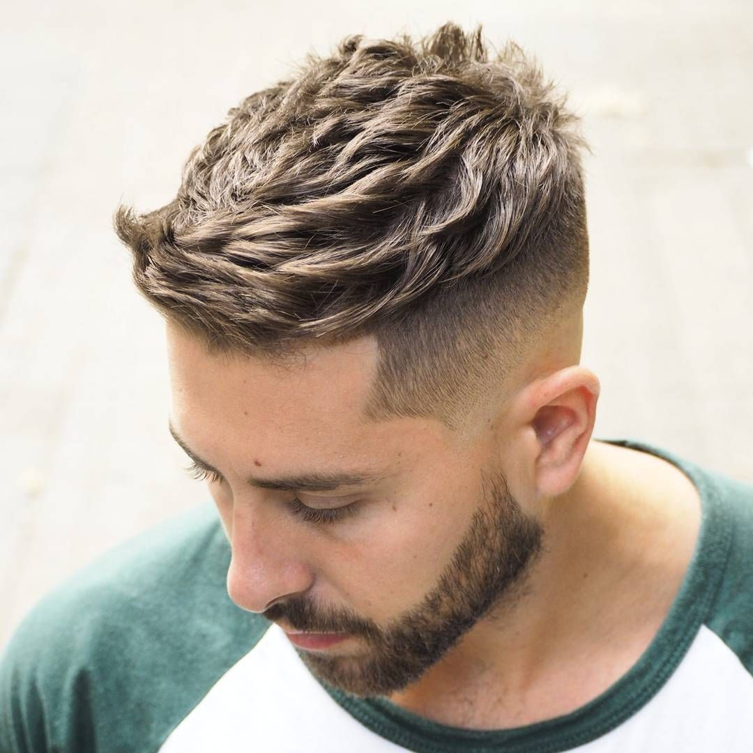 ambarberia short quiff haircut for men | coiffure et beauté