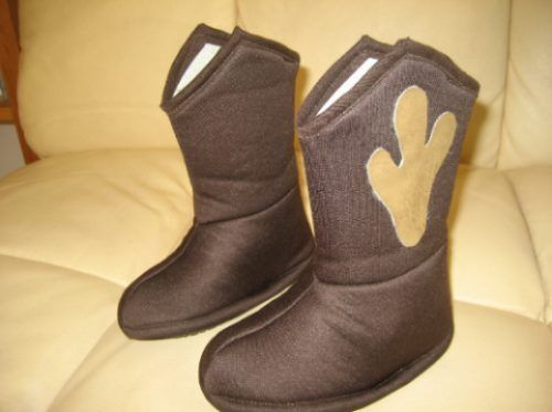 Como hacer botas vaqueras de fieltro - Imagui  d63ba15fa97