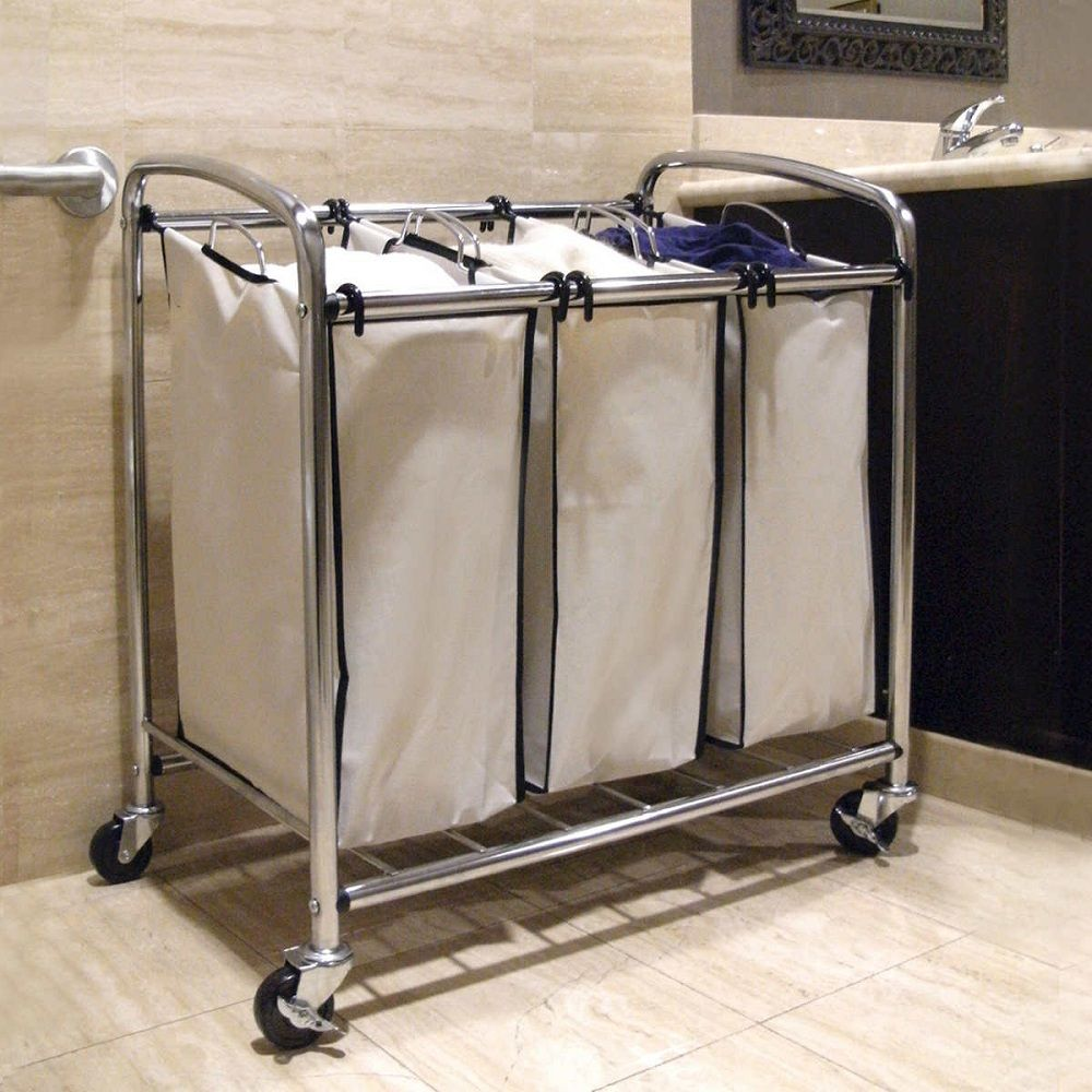 Quad Laundry Sorter 8211 Today When The Room Is A Premium The