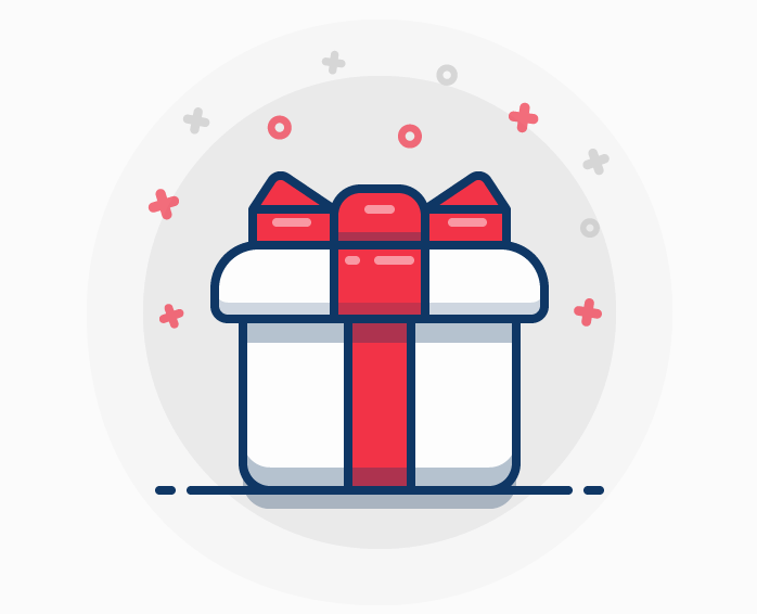 Gift Box Free Vector Icons Designed By Freepik Gift Box Gifts Free Shapes