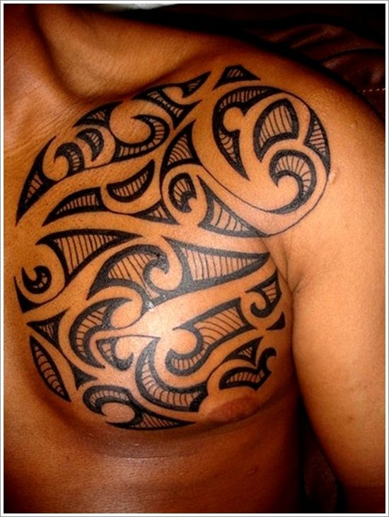Tribal Maori Polynesian Modern Tattoos For Men Google Search
