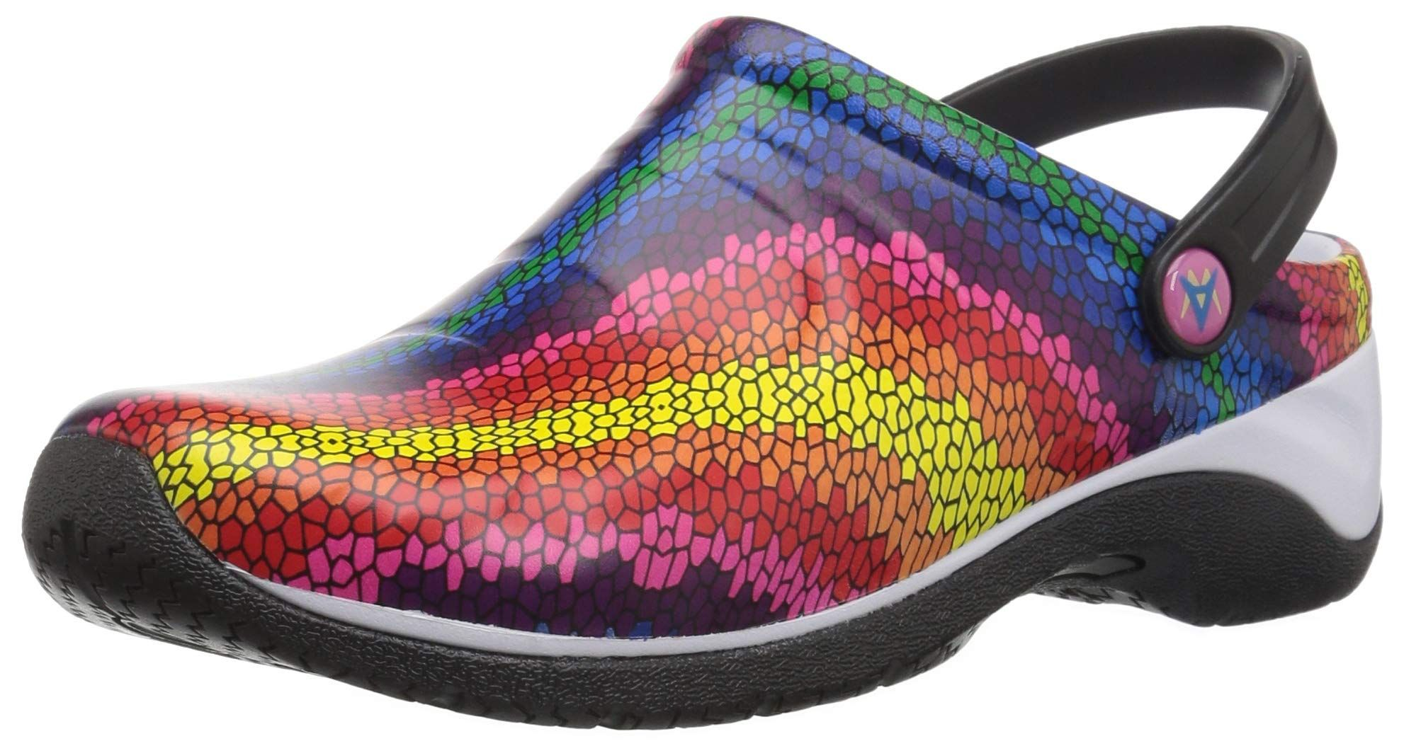 Anywear Women's Zone Medical Professional Shoe, Stained