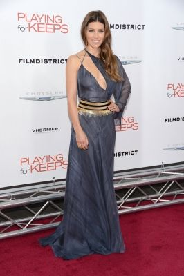 Jessica Biel steps out in style at the Premiere of 'Playing For Keeps' in New York City