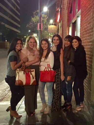 Girls night out at old town Pasadena