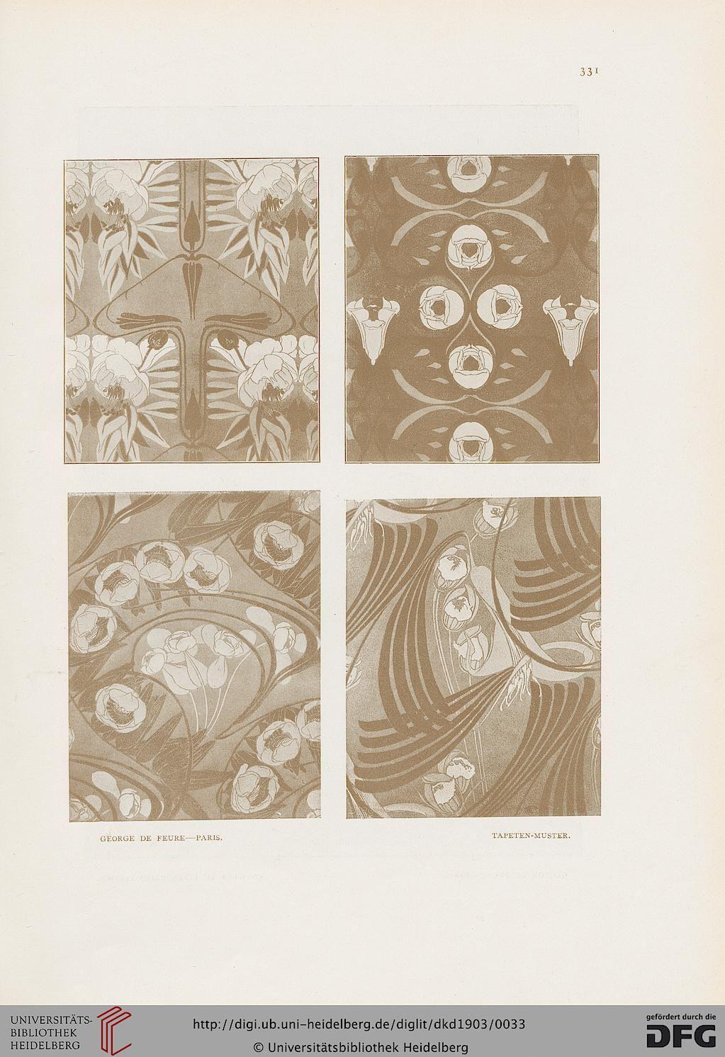 Deutsche Kunst und Dekoration [German Art and Decoration] magazine, Volume 12, 1903.