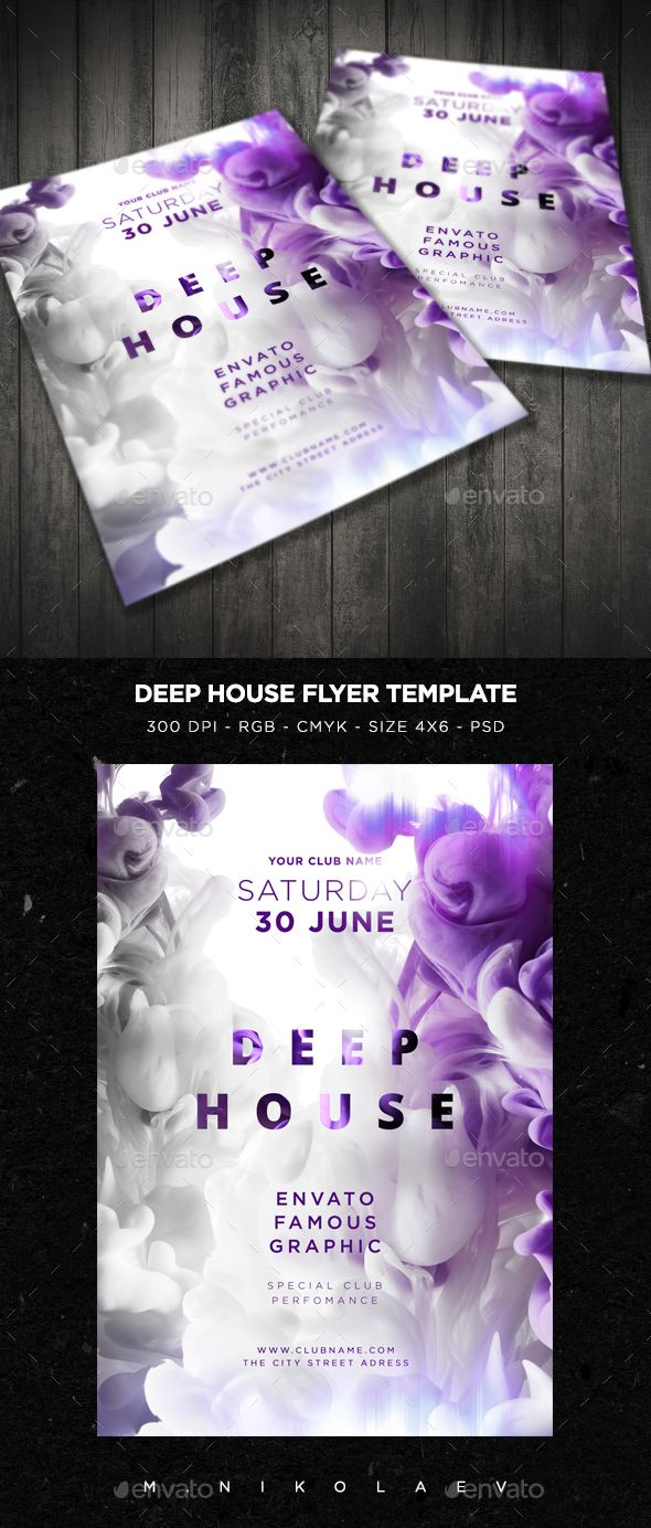 Deep House Flyer V2