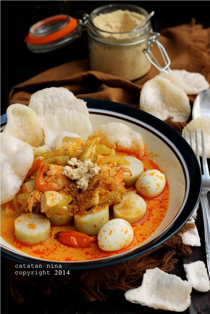 Catatan Nina Lontong Sayur Labu Siam Makan Malam Resep Makanan Asia Makanan Dan Minuman
