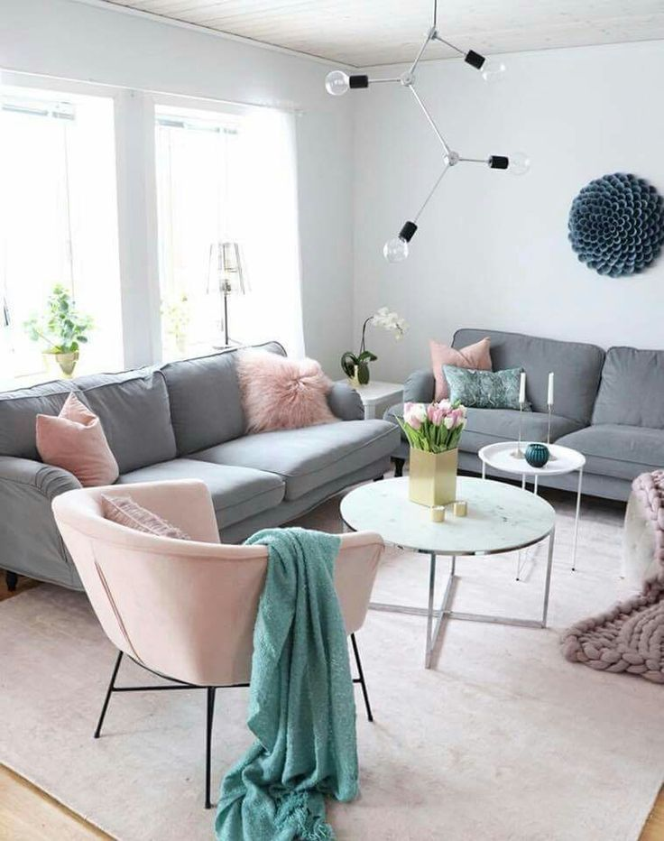 Living room color options Shade of peach gray and blue ...