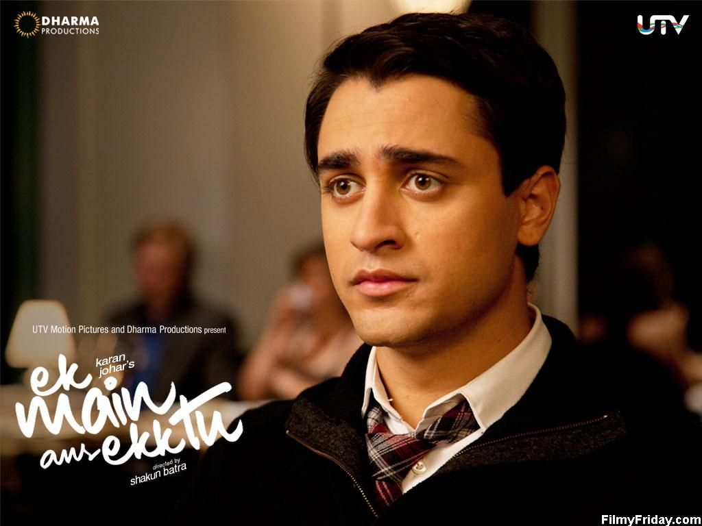Imran Khan in the Bollywood film Ek Main Aur Ekk Tu. Such.Beautiful.Soulful. Eyes. And you can't see it quite properly here, but his eyelashes...