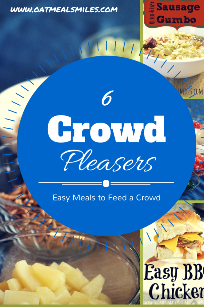 6 easy meals to feed a crowd great for church groups or for Easy entree recipes dinner party
