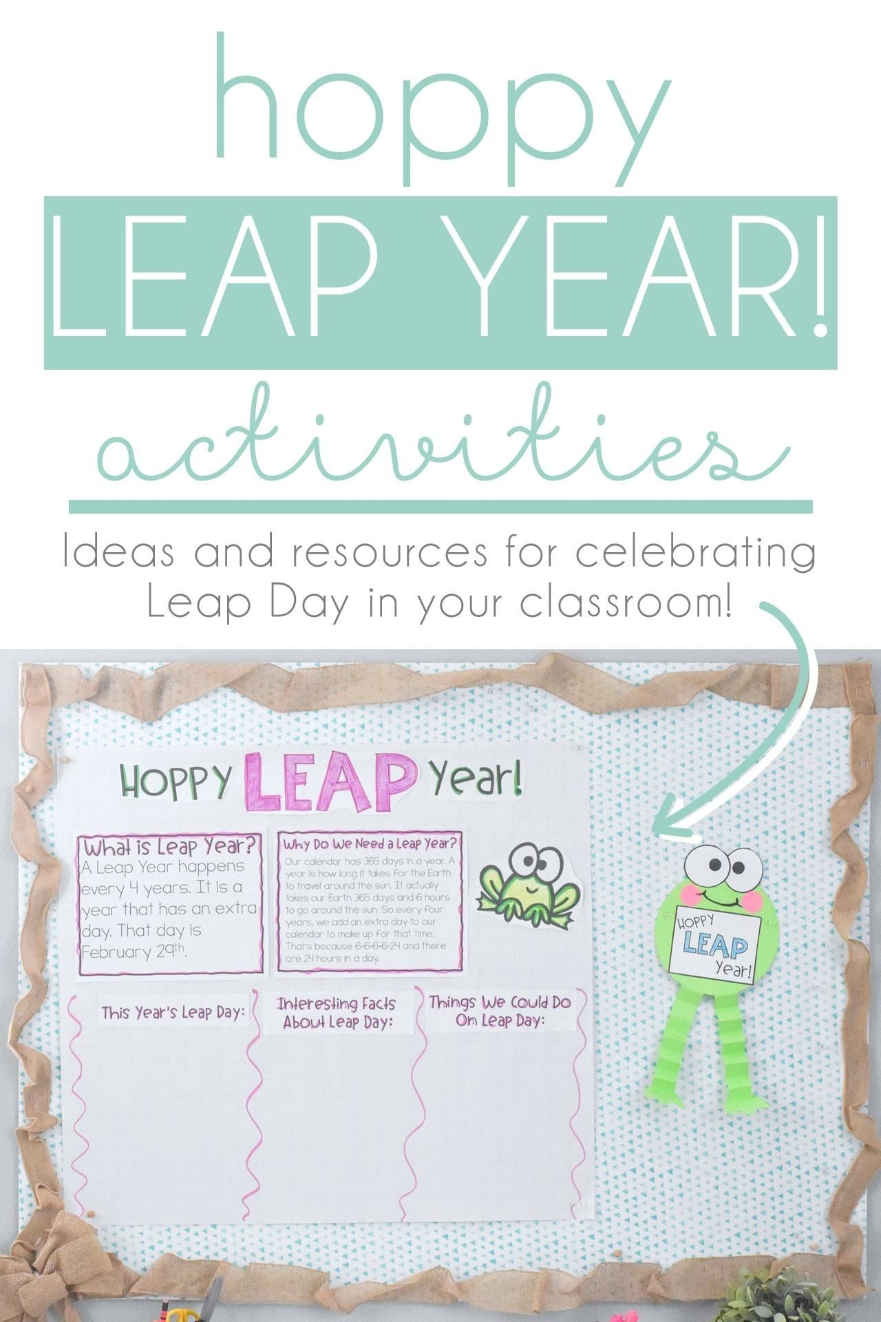 Hoppy Leap Year Leap Year Activities And Resources In