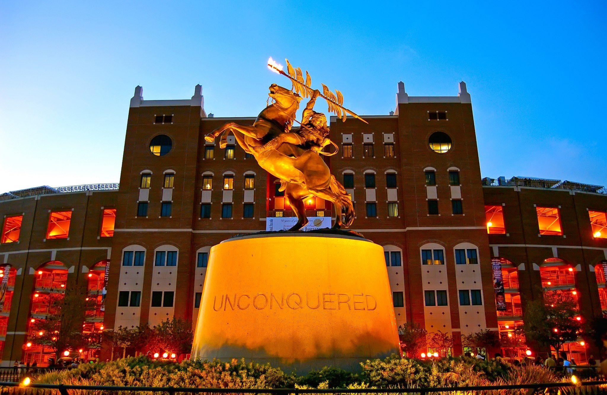 Doak Unconquered Statue Florida State Seminoles Football Florida State Football Florida State University