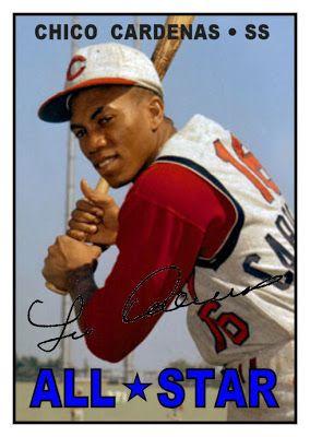 1967 Topps Leo Cardenas All-Star, Cincinnati Reds, Baseball Cards That Never Were