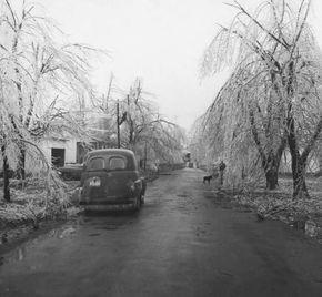 1950s Ice Storm Photo From City Water Light Jonesboro Arkansas The Jonesboro And Craighead County Collection Ice Storm Photo Jonesboro Arkansas