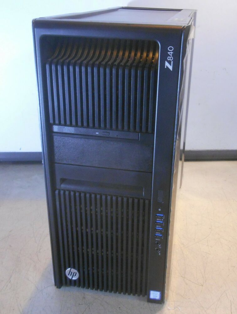 eBay #Sponsored HP Z840 Workstation x2 Intel xeon E5-2620 v3