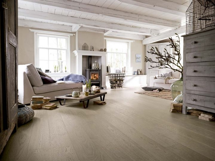 Cálida pisada suelos de madera Revista Interiores Ideas de