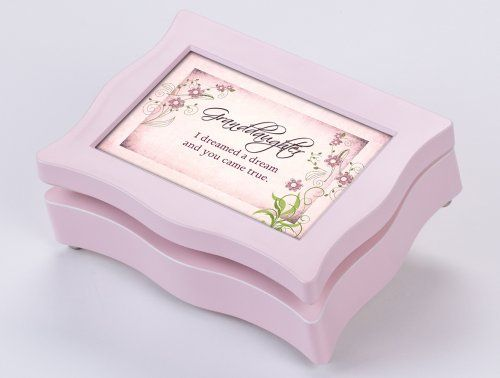 Granddaughter Jewelry Box Classy Granddaughter Digital Music Box  Jewelry Box Plays My Girl Inspiration