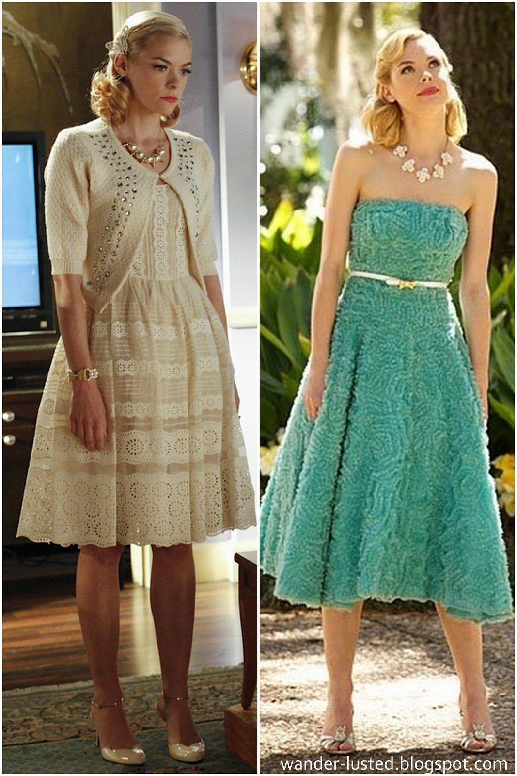 23f8f8aeac Lemon Breeland on Hart of Dixie - Vintage dresses