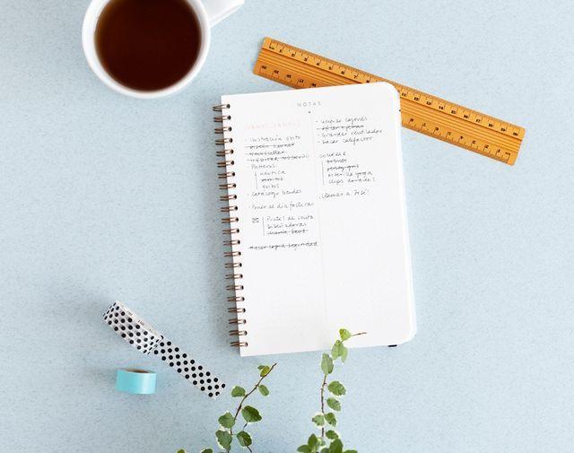 Papelterapia: 10 consejos para planificarte como una profesional y evitar stress innecesario.