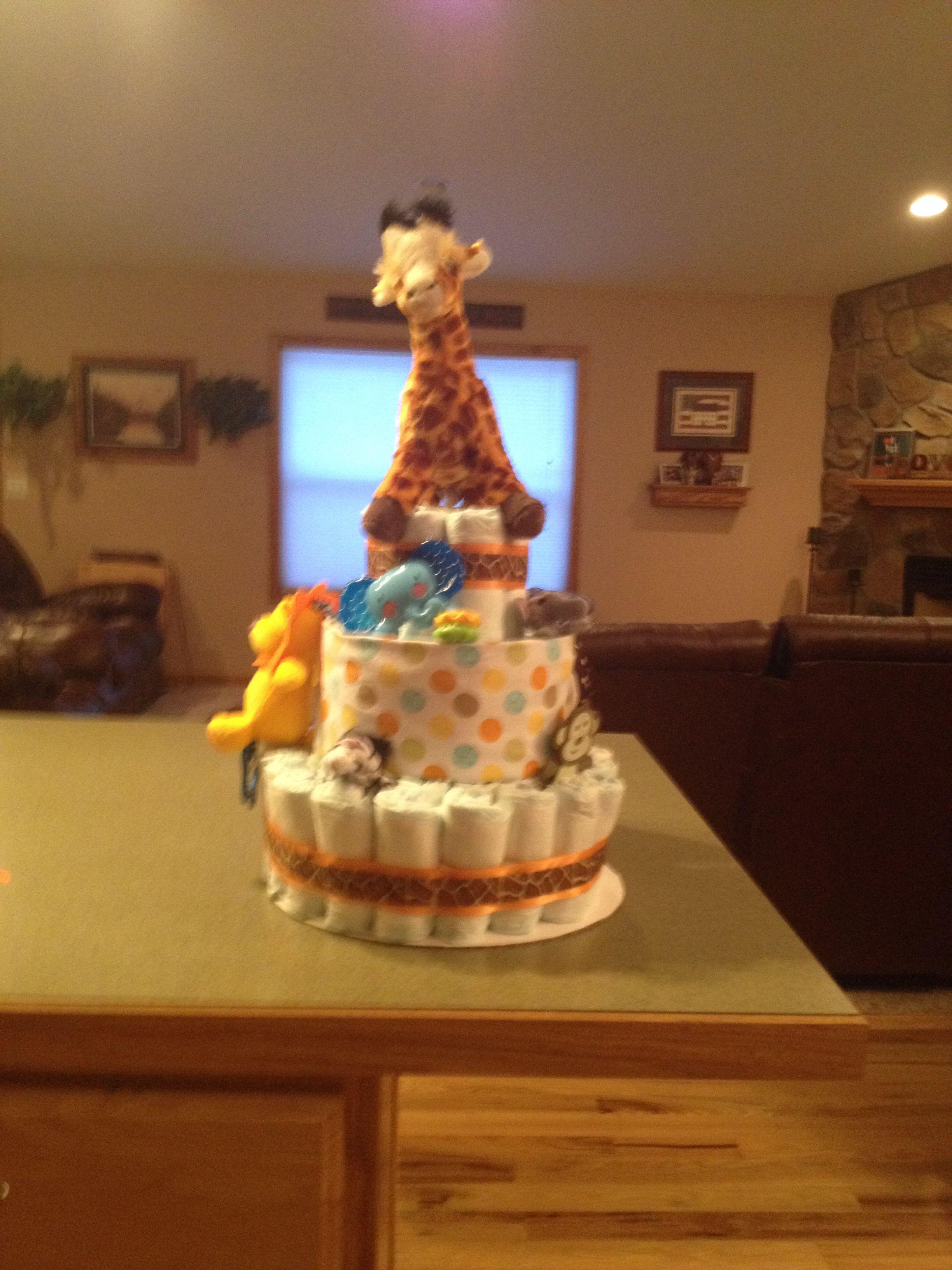 32++ Baby boy diaper cake centerpiece inspirations