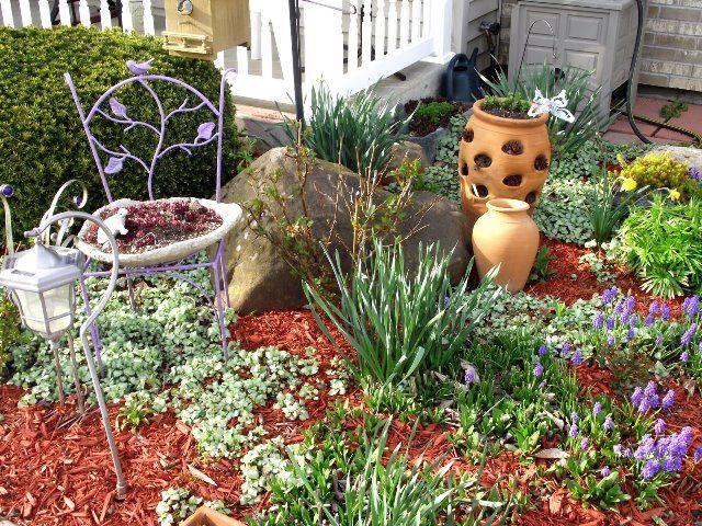 Cómo tener un hermoso jardín con poco dinero? http://www.habitamos ...