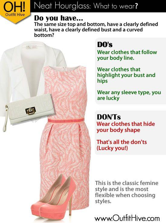 Outfit Ideas Tips For The Neat Hourglass Body Shape Www
