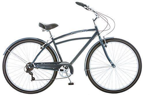 Schwinn Costin 7 Speed Men's 18 Cruiser Bike, 18-Inch
