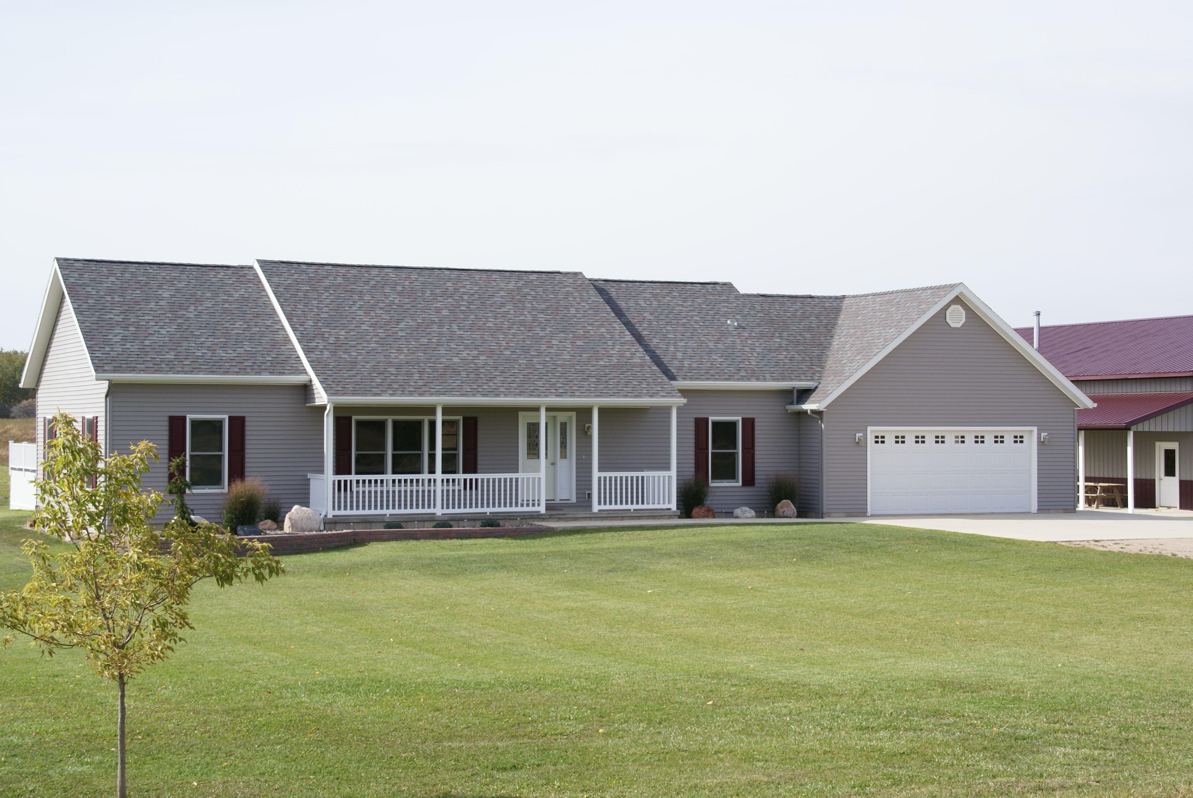 Custom Ranch Modularhomes By Northwood Modular Homes Inc